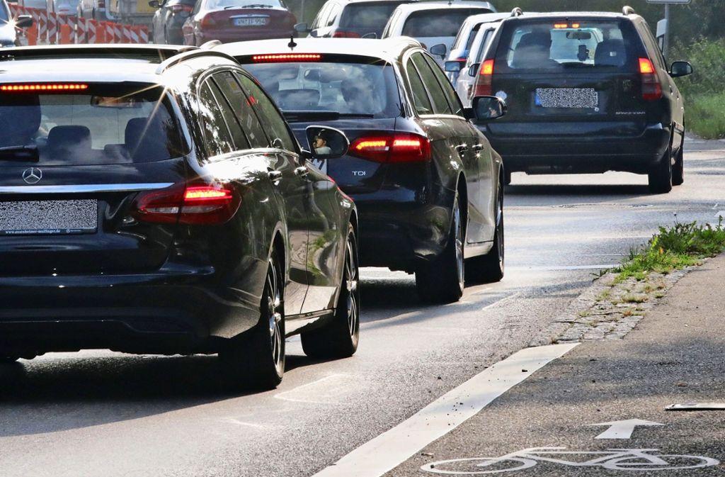 Mehr Radfahrer und weniger Autofahrer –  darauf hoffen die Verkehrsexperten der Stadt auch im Fall des Industriegebiets Vaihingen-Möhringen. Foto: Patricia Sigerist