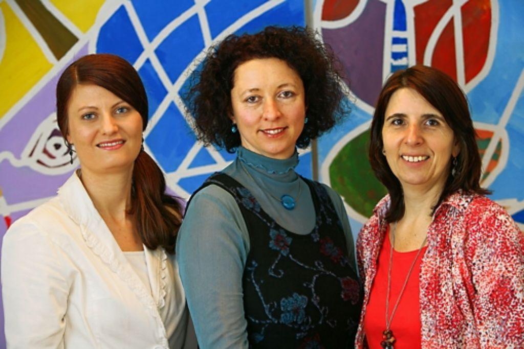 Ines Bayer, Ulrike Michel und Bettina Maier Foto: Zweygarth