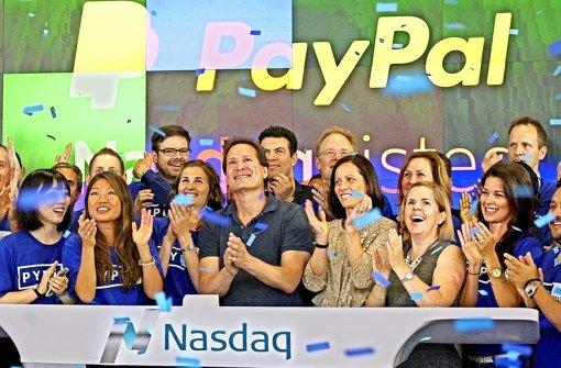 Paypal gibt erfolgreiches Börsendebüt
