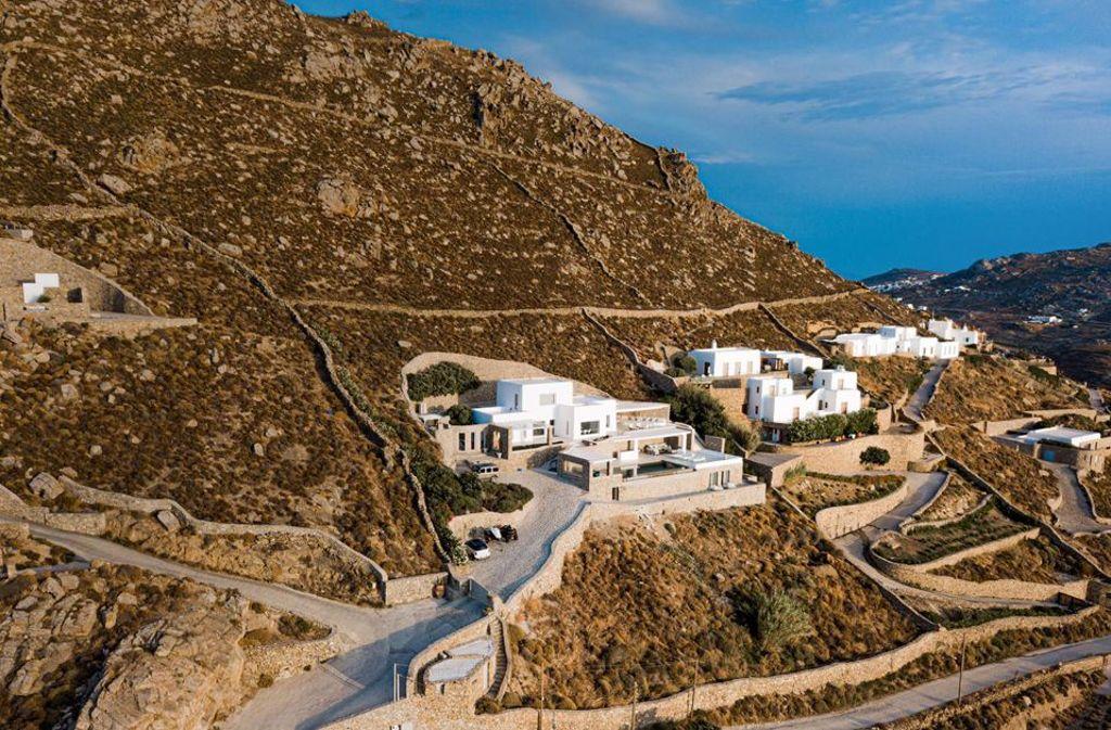 Ein Immobilienunternehmer aus Berlin erfüllte sich den Traum vom Ferienhaus auf Mykonos und beauftragte architare mit der kompletten Innenausstattung. Foto: architare