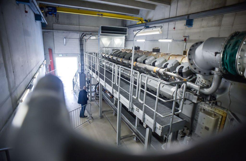 Im Mai 2019 hat die EnBW ein neues gasbetriebenes Heizkraftwerk in Stuttgart in Betrieb genommen. Die Stadt will die Leitungsinfrastruktur in ihren Besitz bringen, nicht aber die Anlagen. Foto: Lichtgut/Max Kovalenko