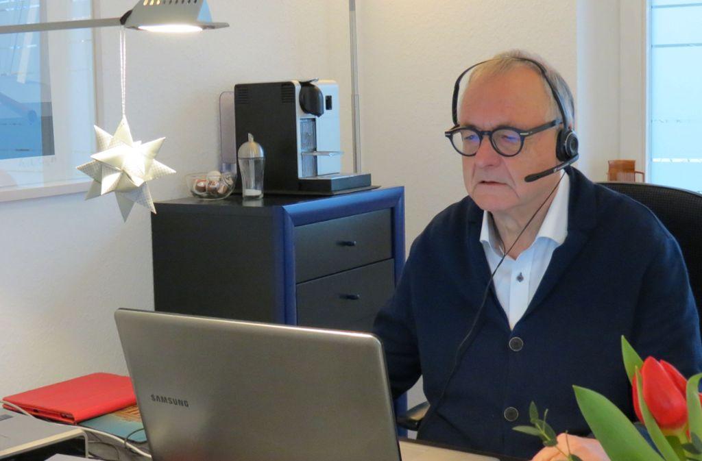 Jörg Meinshausen mag die Telemedizin, manchmal ist er aber trotzdem froh um einen echten Menschen vor sich. Foto: /Felix Ogriseck