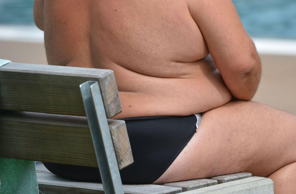 Deutliches Übergewicht wirkt sich negativ  auf die  Gesundheit aus und begünstigt chronische Krankheiten wie Diabetes. Foto: dpa
