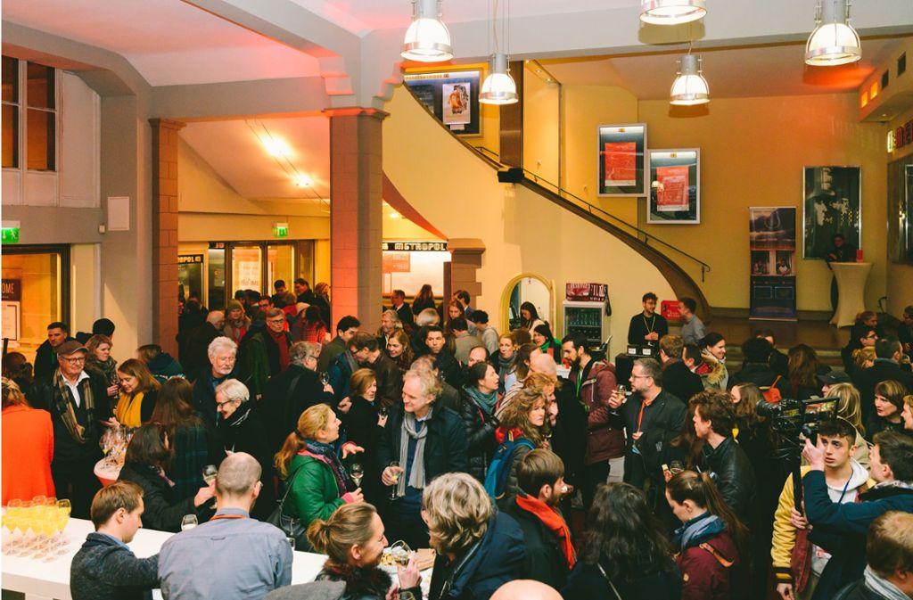 Volles Haus: Die Eröffnungsfeier der 25. Filmschau Baden-Württemberg im Stuttgarter Metropol-Kino. Foto:
