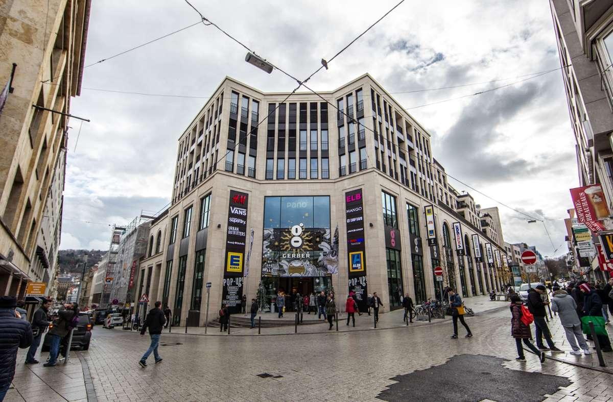 Jetzt gehen keine Drogen mehr an die Adresse des Einkaufscenters Gerber.Foto:Lichtgut/Piechowski Foto: