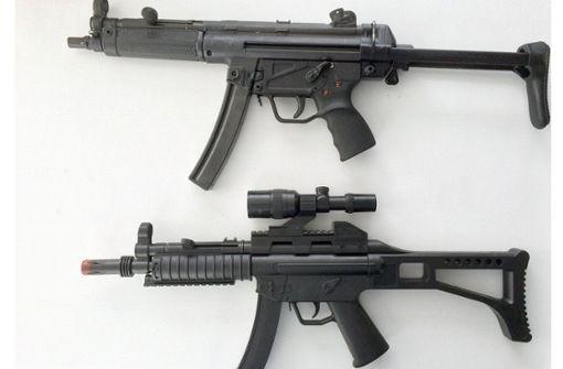 Maschinenpistole aus Lego löst Polizeieinsatz aus