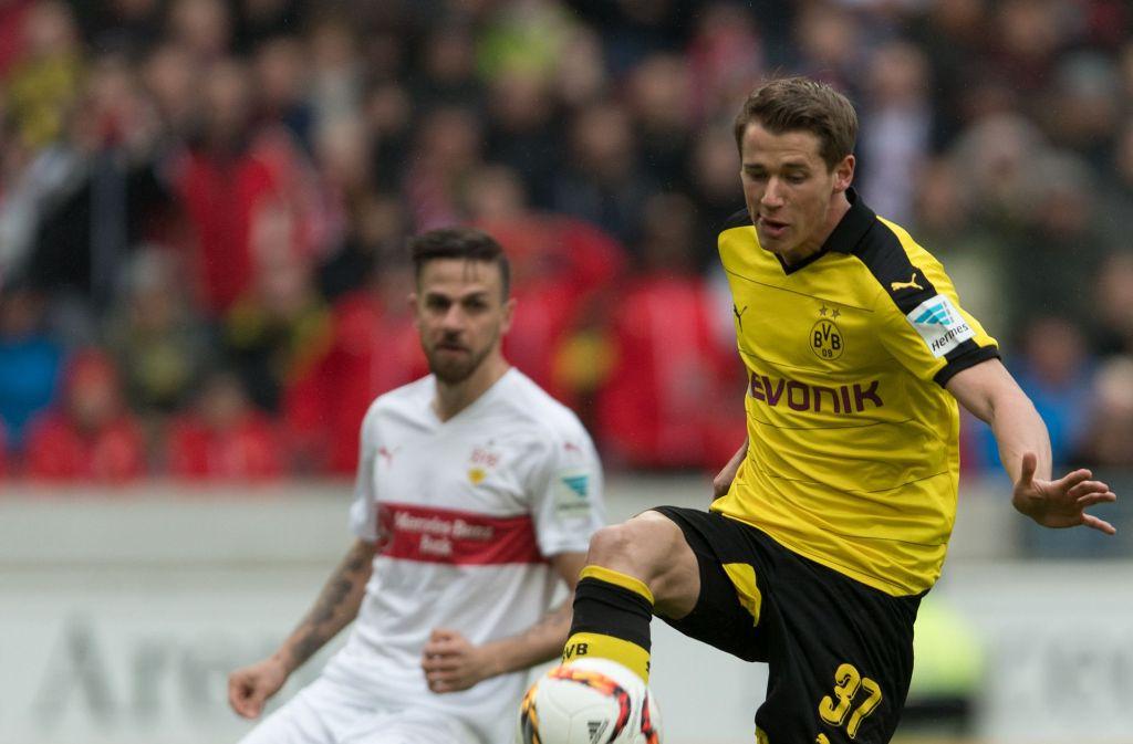 Erik Durm von Borussia Dortmund soll zum VfB Stuttgart wechseln. Foto: dpa
