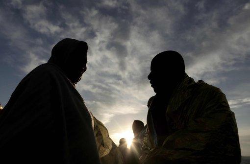 Italienische Küstenwache rettet 2200 Flüchtlinge