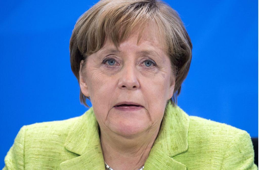 Bundeskanzlerin Angela Merkel Foto: dpa