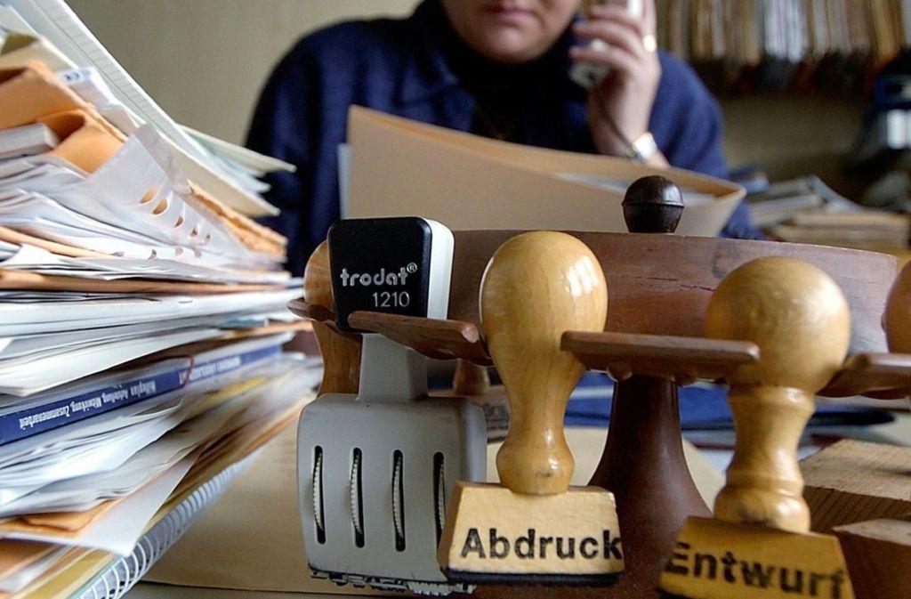 Überall fehlt es an Personal, so auch in der öffentlichen Verwaltung. Foto: dpa