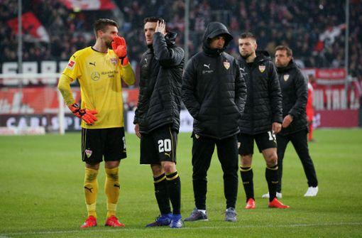 """Für die VfB-Profis hagelt es """"mangelhafte"""" Zensuren"""