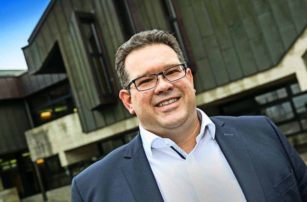 Simon Blessing will sich in seiner zweiten Amtsperiode um die Ortszentren von Frickenhausen und Tischardt kümmern. Foto: Horst Rudel