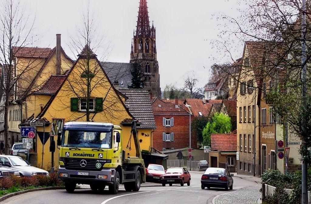 Ein Bild aus besseren Tagen der Geiselbachstraße. Demnächst drohen lange Sperrungen. Foto: Rudel/Archiv