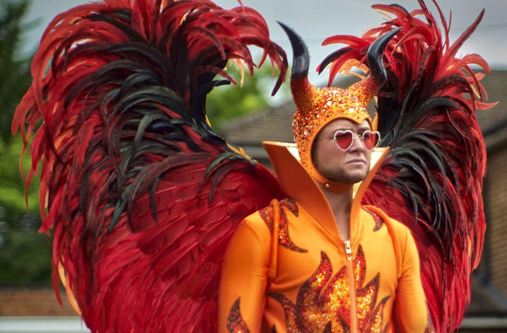 Er trägt die wildesten Kostüme mit Würde und öffnet die Herzen für ein gebeuteltes Genie Foto: Verleih