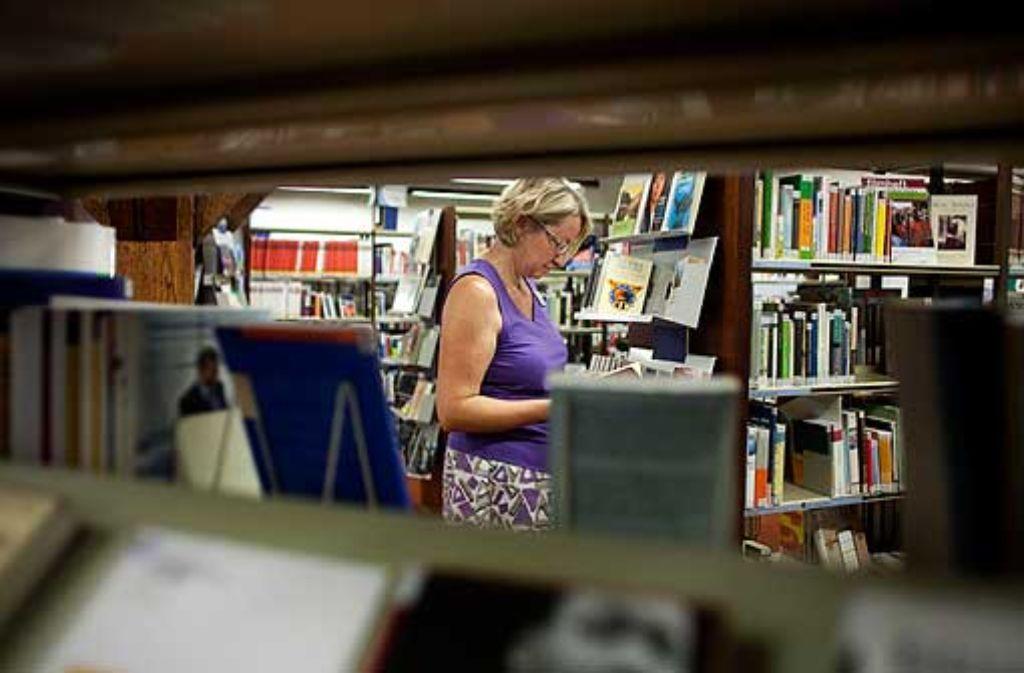 Das Erfolgsrezept der mehrfach prämierten Stadtbibliothek Göppingen lautet: die Wünsche der Kunden möglichst schnell umsetzen. Foto: Horst Rudel