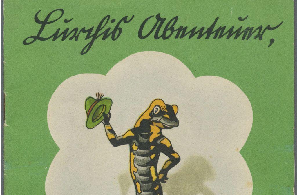 So sieht die Titelseite des Lurchi-Comics aus dem Jahr 1937 aus. Bilder und Informationen zu weiteren spektakulären Versteigerungen des Auktionshauses Gärtner finden Sie in unserer Bildergalerie. Foto: privat