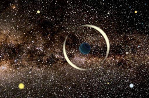 Vagabund im All  –  Erdgroßer Planet fliegt durch die Galaxie