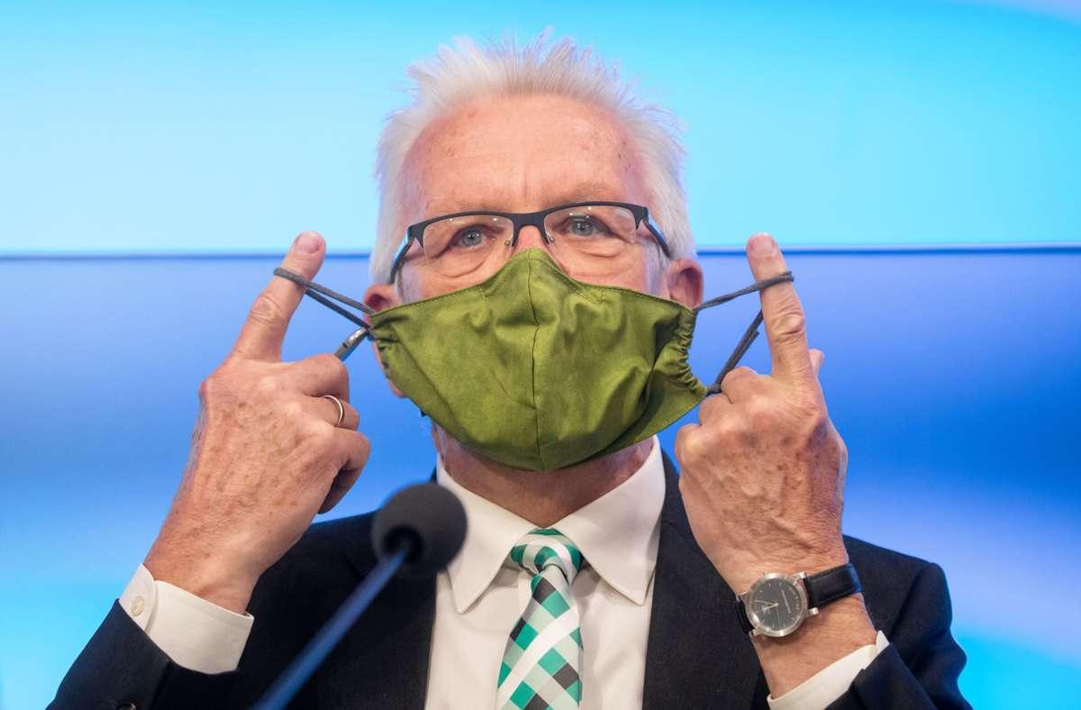 Ministerpräsident Winfried Kretschmann macht sich stark für die Architektur im Land. Foto: dpa/Christoph Schmidt
