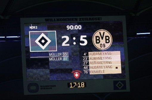 Dortmund gewinnt hoch - Bayern nur Remis