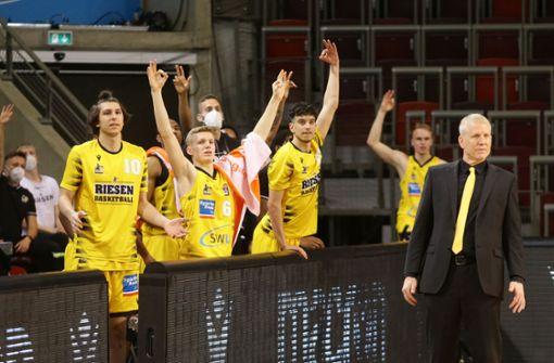 Viel Lob von Bundestrainer Henrik Rödl für die MHP Riesen Ludwigsburg
