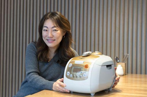 Der sprechende Reiskocher