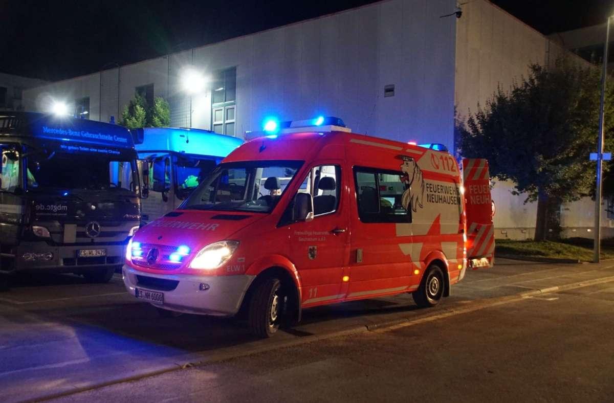 Feueralarm in Flüchtlingsunterkunft. Foto: SDMG/SDMG / Boehmler