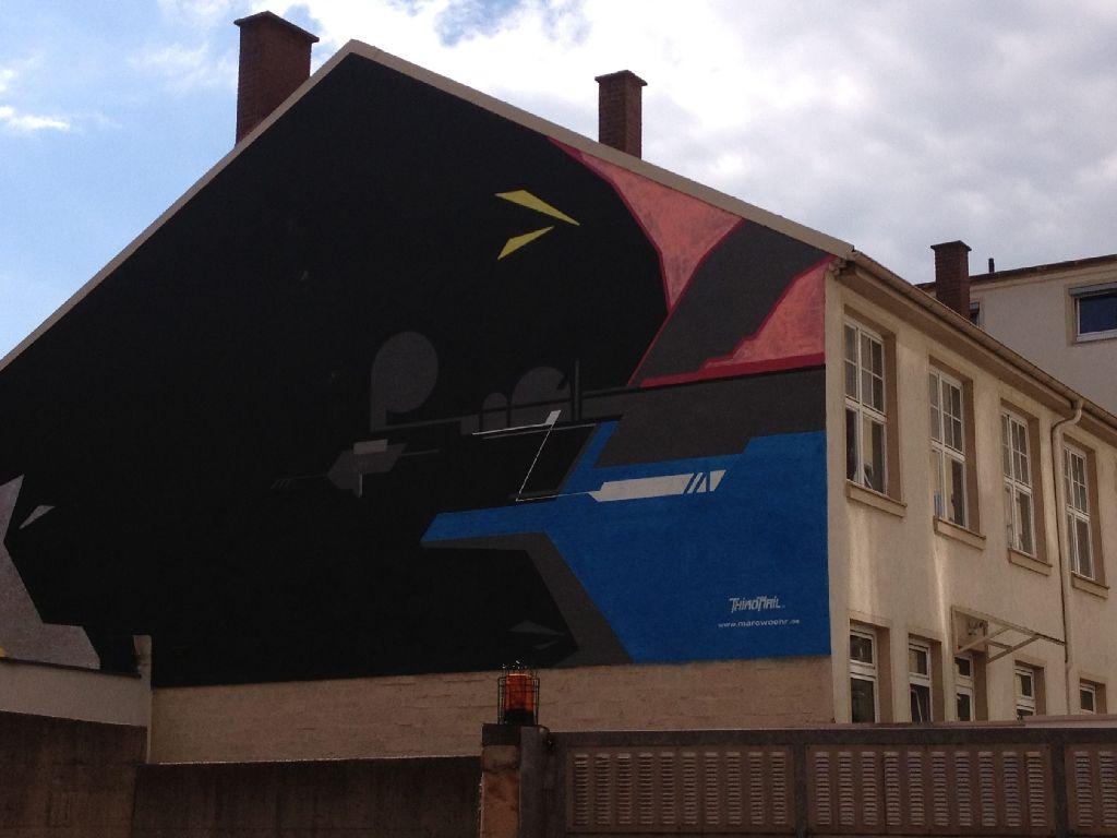 Bald gibts in einem Hinterhof gleich beim Zwölfzehn eine neue Urban-Art-Galerie. Foto: StZ