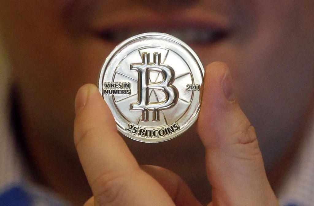 Bald wird es auf Google-Seiten keine Werbung mehr für Kryptowährungen wie Bitcoin geben. Foto: AP