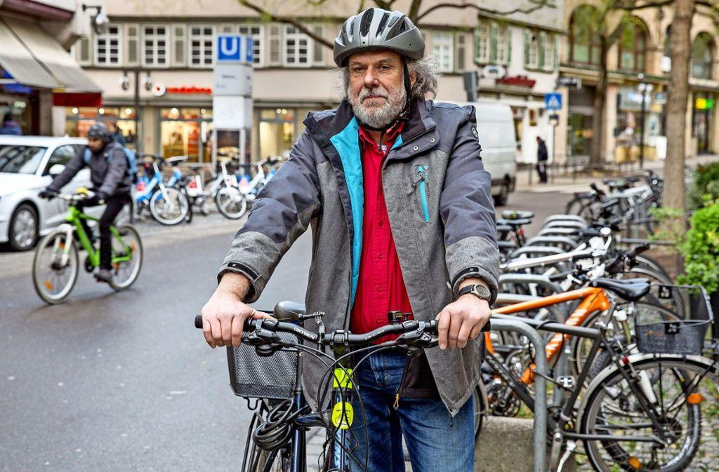 Abschied nach 15 Jahren als Radbeauftragter: Claus Köhnlein Foto: Lichtgut/Leif Piechowski