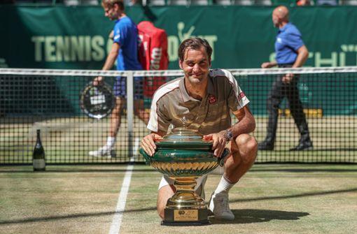 Roger Federer siegt sich in die Geschichtsbücher