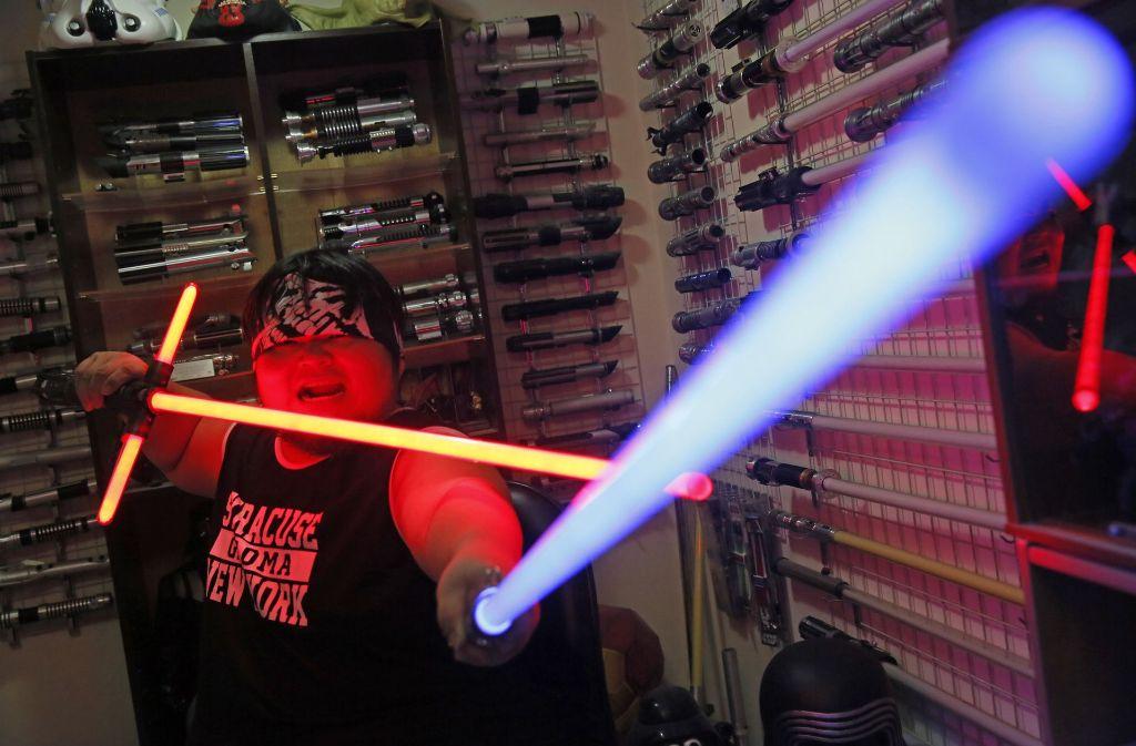 """Bei der Volkszählung im Jahr 2011 nannten in Großbritannien 177 000 Menschen """"Jedi"""" als ihre Religion. (Symbolfoto) Foto: AP"""