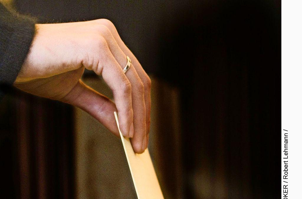 Nach der Wahl wird    jetzt  über die Koalition verhandelt Foto: www.mauritius-images.com