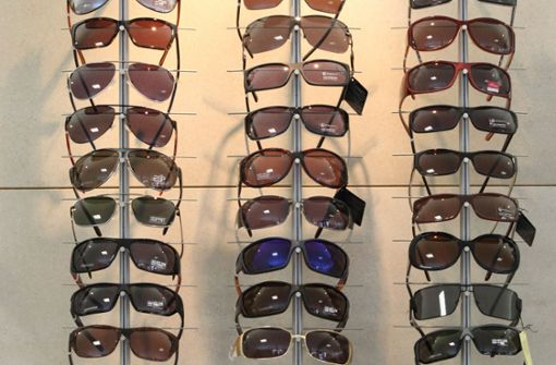 Sechsjähriger klaut sieben  Sonnenbrillen