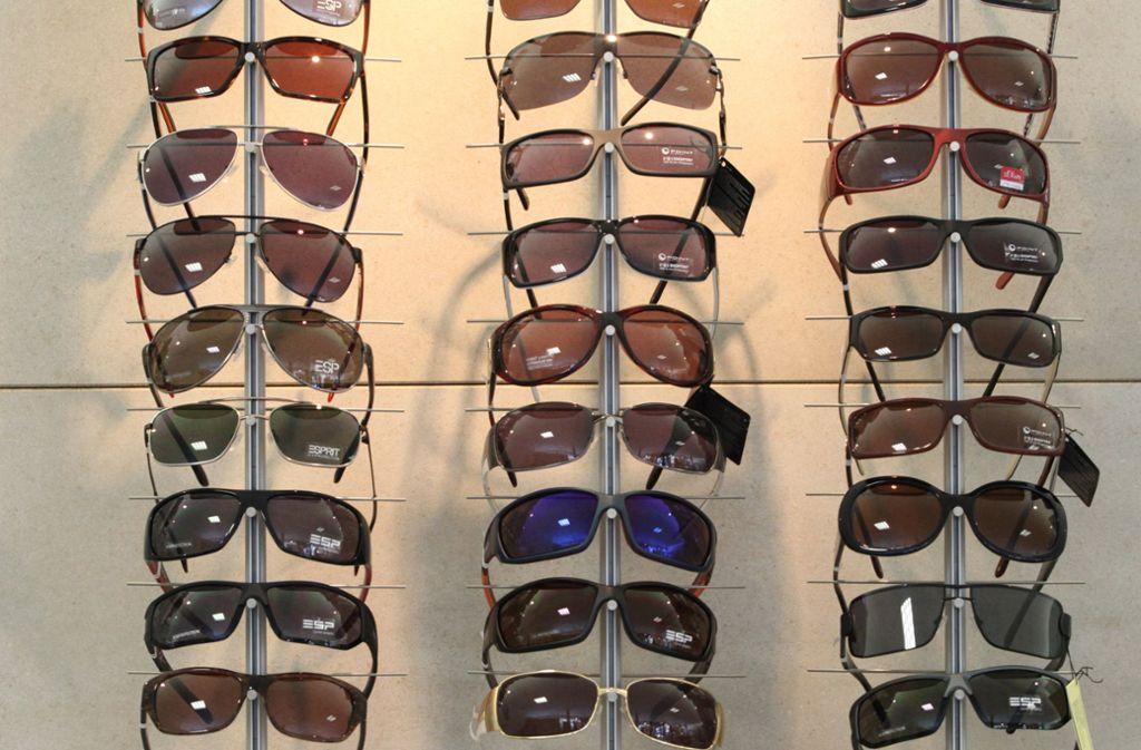 Sonnenbrillen wurden bei einem Optiker in der Bahnhofstraße in Fellbach geklaut. Foto: Archiv/Symbolbild/Sigerist