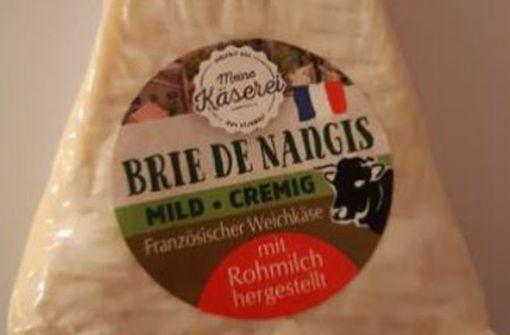 Brie-Käse von Lidl kann verunreinigt sein