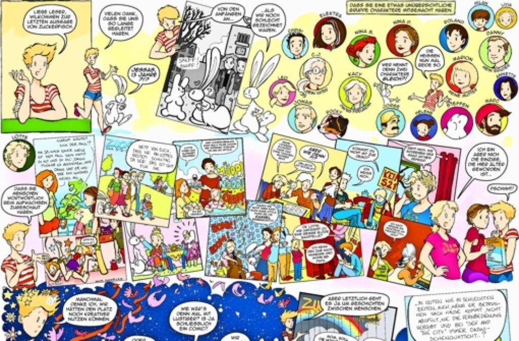 Die Leser der Stuttgarter Zeitung lernten die Comic-Figur Nomi kennen und lieben. Foto: