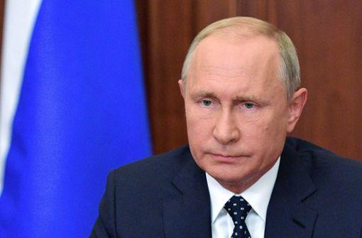 Putin kündigt Zugeständnisse bei Rente an