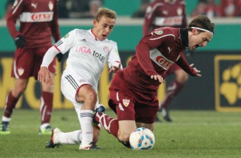 Vfb-Pokalspiel gegen Bayern München Foto: Baumann