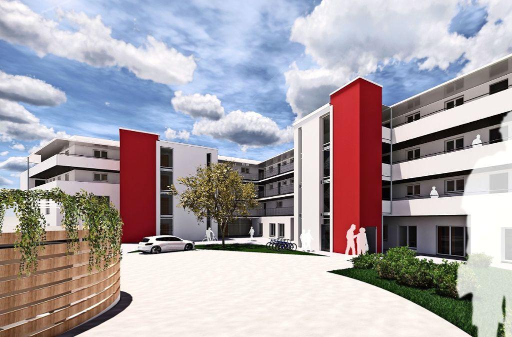 Das Projekt will bieten, was es auch im Pflegeheim  gibt. Foto: Baurconsult  Architekten-Ingenieure