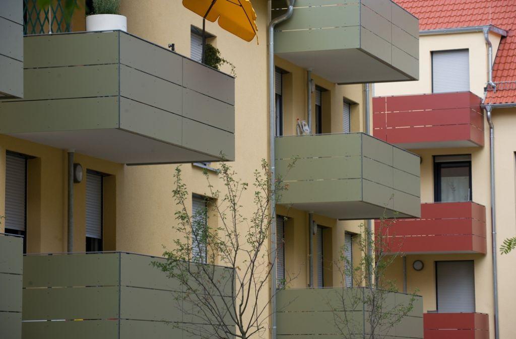 Sozialwohnungen sind knapp in Stuttgart Foto: dpa