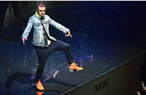 Timberlake beginnt Deutschlandtour im Südwesten