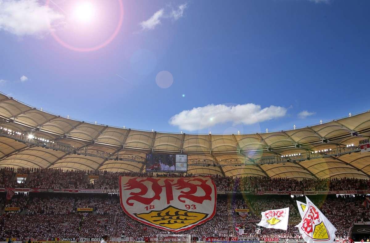 Der VfB Stuttgart ist  bei den Fußball-Interessierten in Deutschland durchaus beliebt. Foto: Baumann