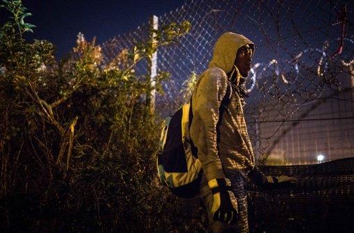 Calais wird für Paris und London zur Krise