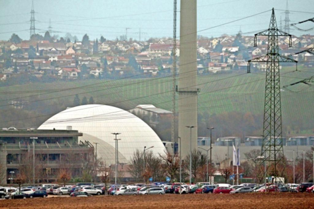 Verlagerung: Bauschutt des Neckarwestheimer Kraftwerks landet auch im Kreis, etwa auf der Deponie Froschgraben. Foto: factum/Archiv