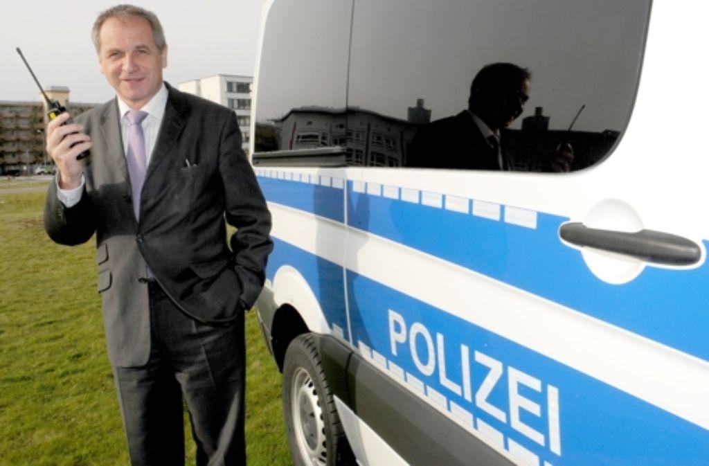 Die juristische Niederlage bei der Polizeireform Baden-Württemberg überschattet die Erfolge von Innenminister Reinhold Gall. Foto: dpa
