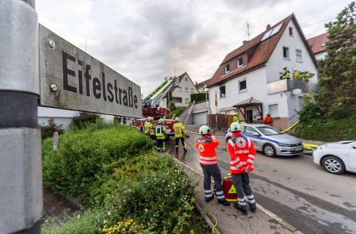 Wohnung steht in Flammen – 150 000 Euro Schaden