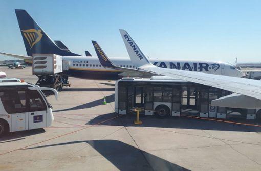 Ryanair-Flugzeug muss in Madrid notlanden