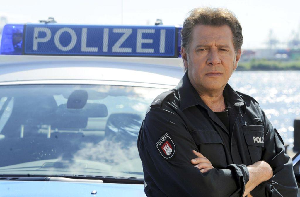 "Jan Fedder wurde mit der ARD-Serie ""Großstadtrevier"" berühmt. Foto: dpa/Fabian Bimmer"