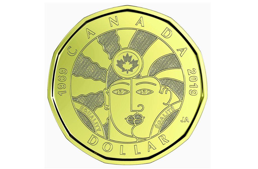 So sieht der neue kanadische Dollar aus. Foto: Royal Mint