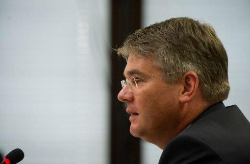 Winfried Mack räumt vor EnBW-Ausschuss Fehler ein